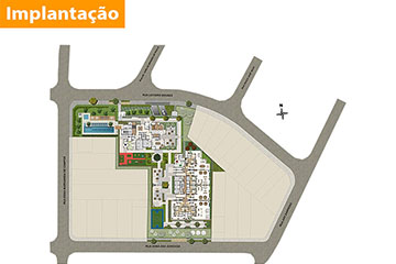 Plantas - Living Welcome Taquaral - Campinas